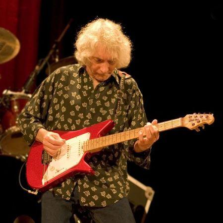 il chitarrista blues Albert Lee