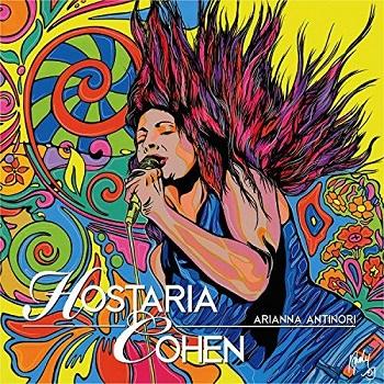 Copertina dell'album Hostaria Cohen della blues woman Arianna Antinori