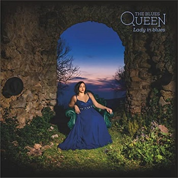 The blues queen, la copertina del cd lady in blues.