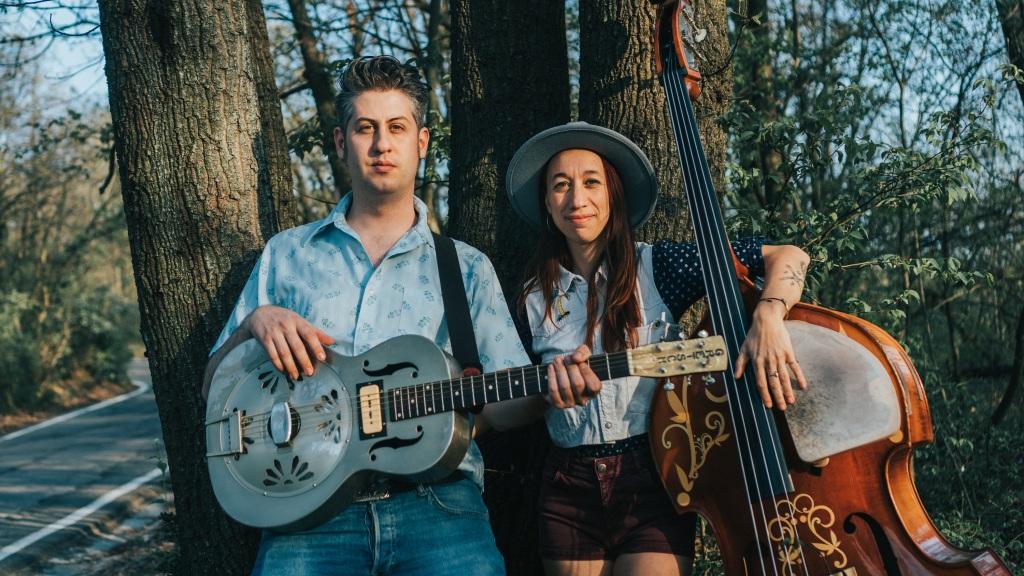 Paolo Roberto Pianezza e Francesca Alinovi formano il duo Country e Blues Lovesick Duo